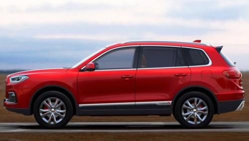 野马全新SUV T80官图发布 将于年底正式上市高清图片